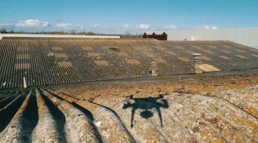 asbestos drone roof inspection Bournemouth Dorset Hampshire Southern Drone Pro